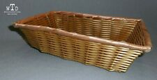 VINTAGE * PALE PINK RIBBON BASKET *