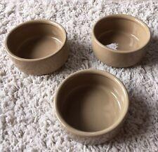 "Three Plain 5"" MASON & CASH Feeding Bowls Ref: Set4"