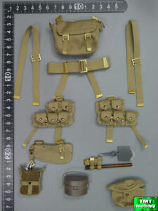 1:6 Scale DID WWI British Infantry Lance Corporal William - P08 Webbing Set