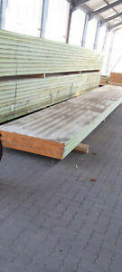 77m² Sandwichplatten 1 x 11 Meter 80mm Thermodach Dachplatten Dämmung Isoplatten