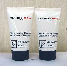 CLARINS Men Shampoo & Doccia (per capelli e corpo) - 2 x 30ml-senza confezione