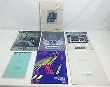 Lot Of 7 Vtg Early 80s Computer Publications & Advertisements