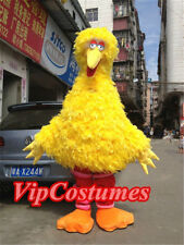 New Big Bird Sesame Street Mascot Costume Fancy Dress Adult Size Free Ship Adult
