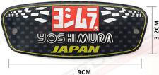 1 ADESIVO YOSHIMURA  ALLUMINIO 3D 200° alta temperatura SCARICO MOTO BMW SUZUKI