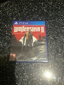 PLAYSTATION 4 PS4 GAME Wolfenstein II 2 The New Colossus NEW & SEALED