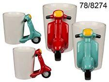 Tazza in ceramica con manico a forma di Motocicletta 15 x 11 x 9 cm
