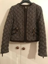 Zara brown tweed blazer/ jacket - Size XS - Used but in very good condition