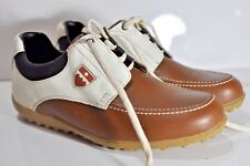Bally Womens Mocc leather golf shoes size 10 made in Portugal 5b6e32d49e91