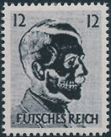 Stamp Replica Label Germany 0100 WWII Fuhrer Hitler Futches Reich Xray MNH