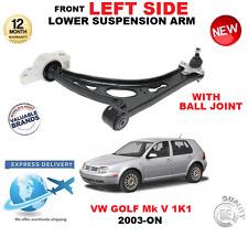 per VW GOLF MK 2003 + ANT INFERIORE SINISTRO BRACCIO OSCILLANTE CON SFERA giunto