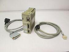 Yaskawa SGDA-01BS Servopack Drive 0-115VAC 100W 2.2A 1PH Output w/ Cables
