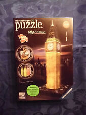 ..Big Ben,, Ravensburger 3D Puzzle Night Edition NEU & OVP