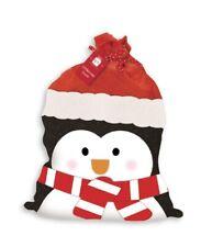 Plush Penguin Christmas Sack - Large 75 x 48cm - Santa Sack - Reusable Sacks