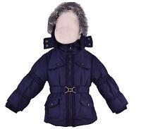 Baby Mädchen Jacke Winterjacke Mantel Kinder Schneejacke mit Kapuze Neu 62-86