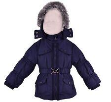 Baby Mädchen Jacke Winterjacke Mantel Kinder Schneejacke mit Kapuze Neu  Fleece