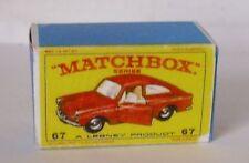 Repro Box Matchbox 1:75 Nr.67 VW 1600 TL