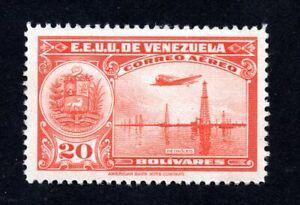 Venezuela 1938-39 stamp Mi#284 MH CV=75€