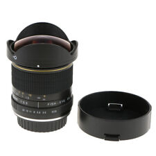 Obiettivo Ultra Fisheye per fotocamera Canon APS-C 8mm F3.5 Grandangolo con