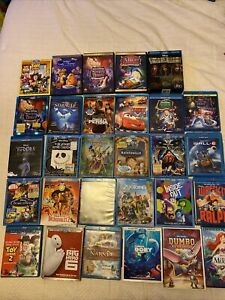 HUGE DISNEY BLU RAY LOT