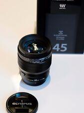 Olympus M.Zuiko digital ED 45mm 1.2 PRO schwarz 45 mm f1,2