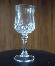 Decorative water glass, 7 1/4 in length crystal stem replacement