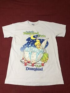 Small  Woman/'s Tinkerbell ~ The Wonderful World of Disney Black Tee Shirt NWT