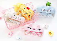 Plush Cute Pencil Case Kawaii Large Capacity School Supply Stationery Pouch Bag
