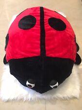 Kalokids Dotty Ladybug Giant Floor Cushion- Cushion Is Removable & Washable