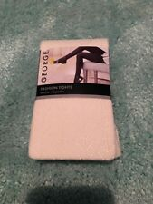 NWT GEORGE Fashion Tights Ivory Sz 3 Lace Design