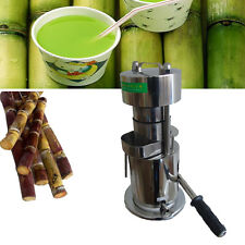 10T Hand Type Hydraulic Fruit Sugar Cane Juicer / Fruit Juice Extractor