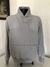 Men's Gap Pullover Cotton Sweatshirt Pullover Gray Medium M