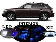 LED Package - Interior + License Plate + Vanity + Reverse for Infiniti FX35 FX45