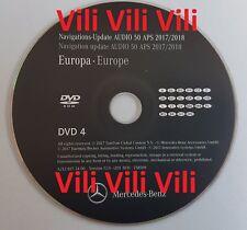 Mercedes NTG4-212 2018 DVD Audio 50 Aps EU (DVD 4) A,AL,BG,CZ,D.....22 countries