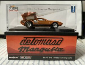 Hot Wheels RLC DE TOMASO MANGUSTA Pre-Sale