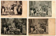 SARAH BERNHARDT THEATRE STAR 100 Vintage Postcards WITH PUBLICATIONS