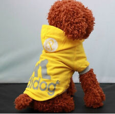 Winter Casual Pet Dog Cat Hoodies Clothing Puppy Coat Clothes Apparel Jacket
