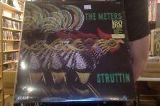 The Meters Struttin' LP sealed 180 gm vinyl reissue