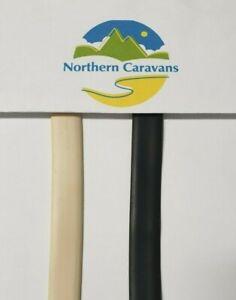 Caravan Infill Trim / Flat Strip - 14mm BLACK ONLY - MIN order 10mtr