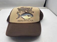 New listing Vintage Wildcat Bait Tackle Indialantic, Fl Mesh Snapback Trucker Cap Hat Nos