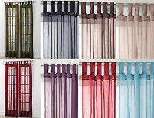 Polyester Tab Top Curtains & Pelmets