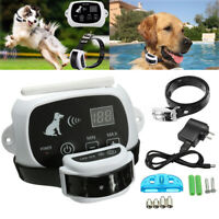 Wireless Electric Pet Fence Dog Containment System Waterproof Collar