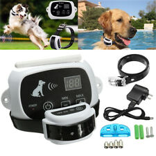 Dog Electric Wireless Fence Pet ContainmentSystem Waterproof Rechargeable Collar