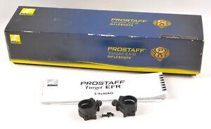 Nikon Prostaff Target Riflescope, 3-9X40mm CLAMPS & BOX ONLY