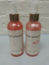 2 ~ Bath & Body Works Rose Quartz Love Passion Fine Fragrance Mist 6oz each Read