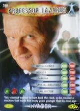 DR WHO INVADER CARD 380 PROFESSOR LAZARUS