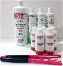 Global Complex Blowout Keratin Hair Treatment Treat Wash N' Go Inverto XL + Comb