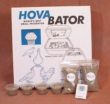 HovaBator Still Air Egg Incubator Kit for Reptiles | Thermometer, substrate