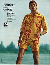 PUBLICITE  1968    JANTZEN   maillots de bain tenues plage