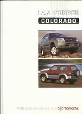 TOYOTA Land Cruiser Colorado introductive brochure JUIN 1996