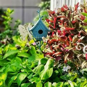 Cast Iron Free Standing Bird Feeder Vintage Bird Feeder House Rustic Eco-Friend